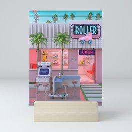 Roller Skate Nostalgia Mini Art Print
