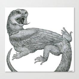 Aggressive Fantasy Creature Canvas Print
