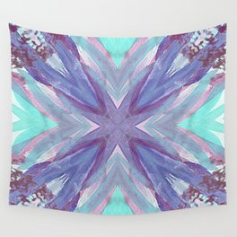 Watercolor Abstract Wall Tapestry