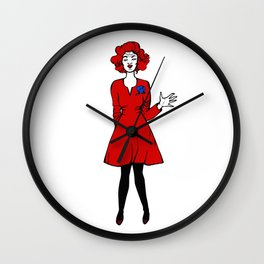 Lil the dacer Wall Clock