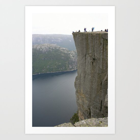 Preikestolen, Norway Art Print