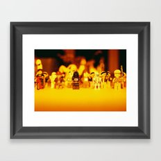 Lego Dudes Framed Art Print