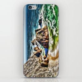 Amazing Surge Patterns in the Surf at Point Reyes, Calfornia iPhone Skin