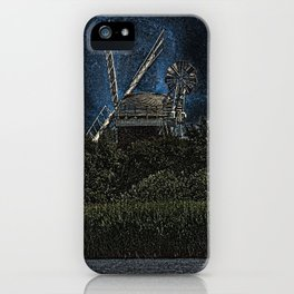 Horsey windmill iPhone Case