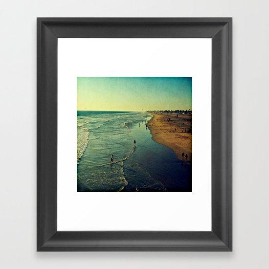 California Dreaming I Framed Art Print