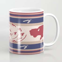 American Native Pattern No. 186 Coffee Mug