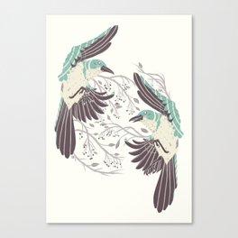 Birds of Summer Canvas Print
