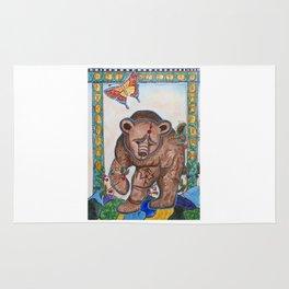 Siberian bear Rug
