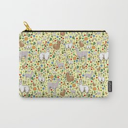 Cute Llama Pattern Carry-All Pouch