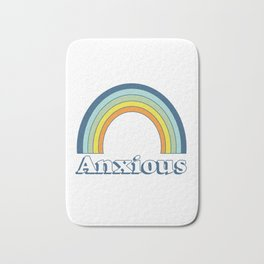 Anxiety Rainbow Bath Mat