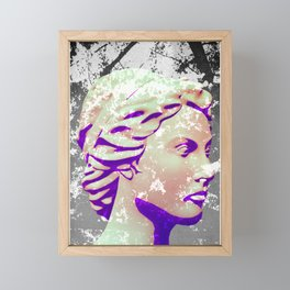 Ghostly Classic Framed Mini Art Print