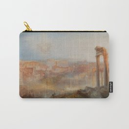 """J.M.W. Turner """"Modern Rome – Campo Vaccino"""" Carry-All Pouch"""
