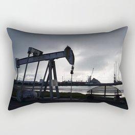 Oil Beam Pump New Plymouth Habour Rectangular Pillow
