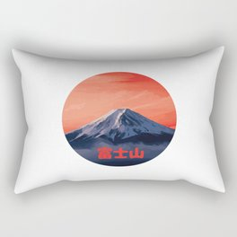 Mount Fuji Rectangular Pillow