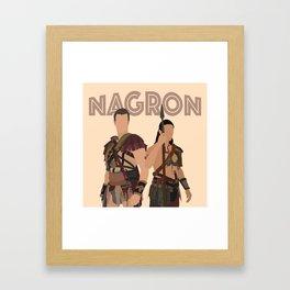 Nagron (Spartacus) Framed Art Print