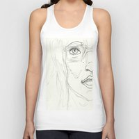 glasses Tank Tops featuring Glasses by writingoverashes