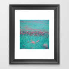 summer thoughts Framed Art Print