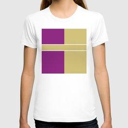 Team Color 6....Gold,purple T-shirt