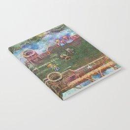 Final Fantasy VI Terra Branford Airship Impressionist Painting Notebook
