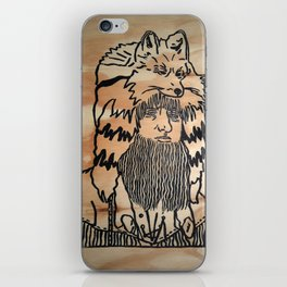Beardman iPhone Skin