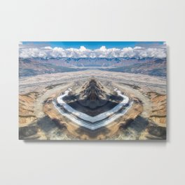 Recontextualized Symmetrical Public Domain Photo #1 Metal Print