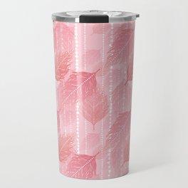 Boho Blush and Beads - Pink Travel Mug