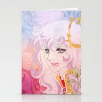 utena Stationery Cards featuring Lady Oscar by Neo Crystal Tokyo