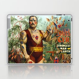 the strongest man of the world Laptop & iPad Skin