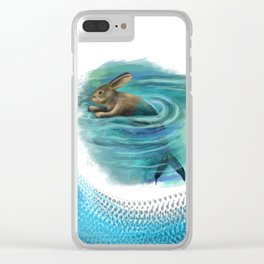 River raddit Clear iPhone Case