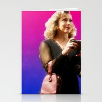 river song Stationery Cards featuring Doctor Song by Taylor Bookout