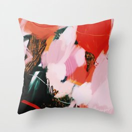 What we found Throw Pillow