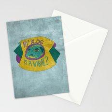 MAKE IT GO VIRUS Stationery Cards