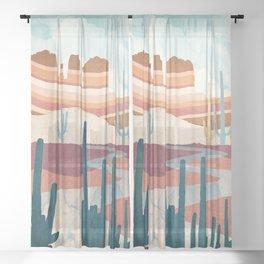 Desert Vista Sheer Curtain