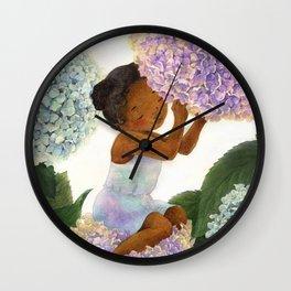 Dreaming of Spring Wall Clock