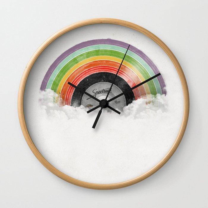 Rainbow Classics Wall Clock