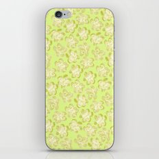 Wallflower - Butter Yellow iPhone & iPod Skin