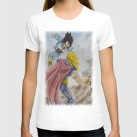 vegeta T-shirts featuring Vegeta V Thor by Kame Nico