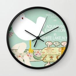 Woodstock Birdie Collage Print Wall Clock