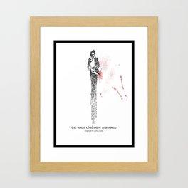 A Bad Man Framed Art Print