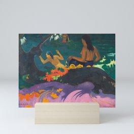 Paul Gauguin - By the Sea- Tropical Decor Mini Art Print