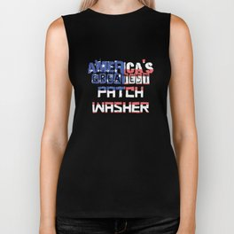 America's Greatest Patch Washer Biker Tank