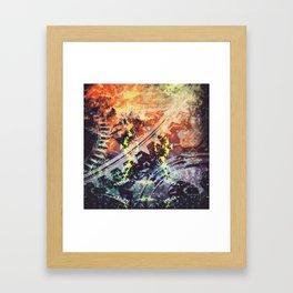 Natural Grind Framed Art Print