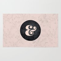 ampersand Area & Throw Rugs featuring ampersand by StudioAmpersand