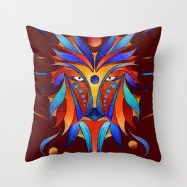 Sanopsilla - the dog Throw Pillow