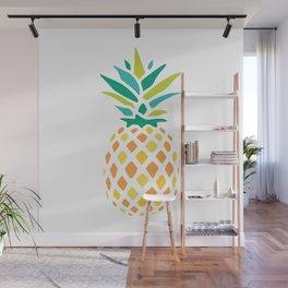 Summer Pineapple Wall Mural