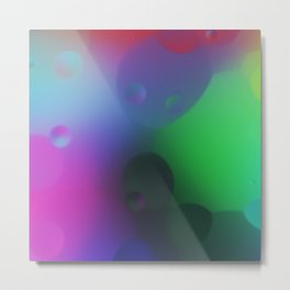 misc fantasy color drops C Metal Print