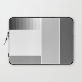 Grey Scale | Minimal | Simple | Basic | pulps of woo Laptop Sleeve