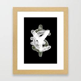 YES to CASH Framed Art Print