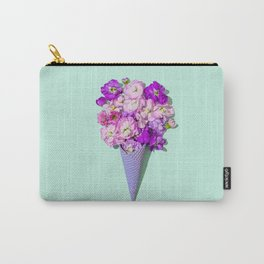 Flower Flurry II Carry-All Pouch