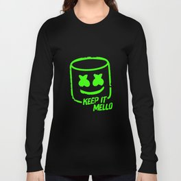 Marshmello - Keep It Mello Green Long Sleeve T-shirt